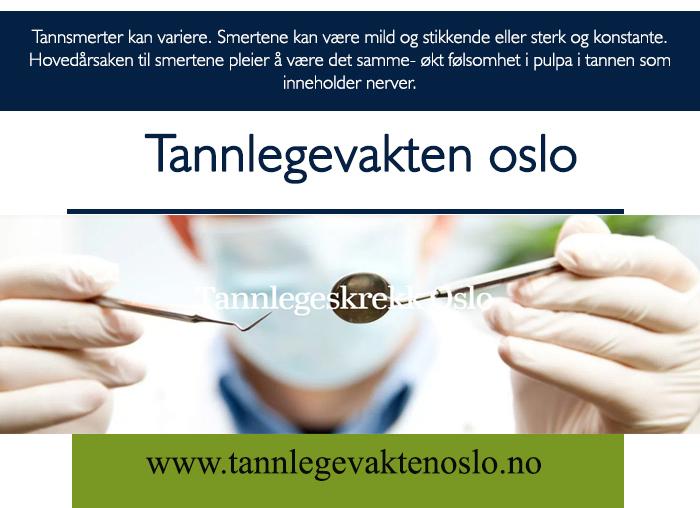Tannlege Barn Oslo
